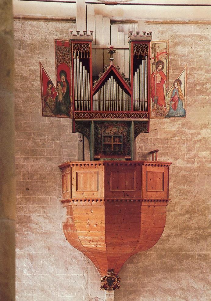 Organ in Valère, Sion