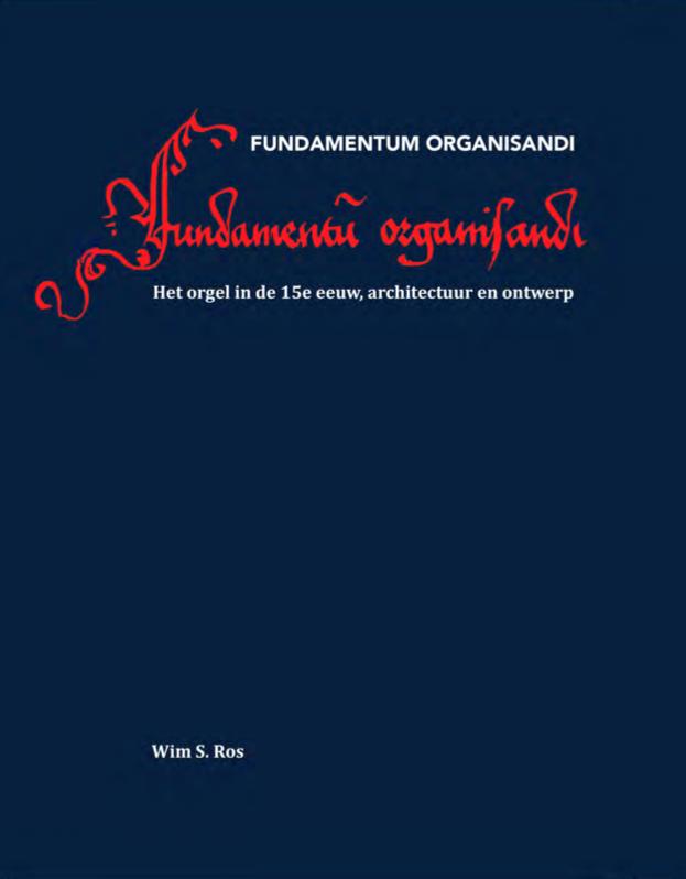 Wim Ros Fundamentum organizandi