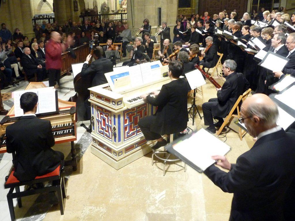 Sergio del Campo Olaso órgano y Saskia Roures